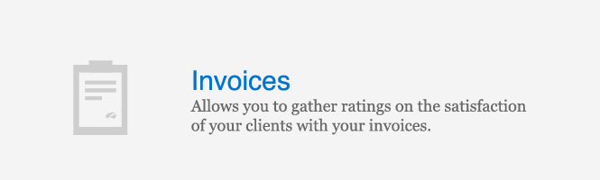 Let your customers rate your services