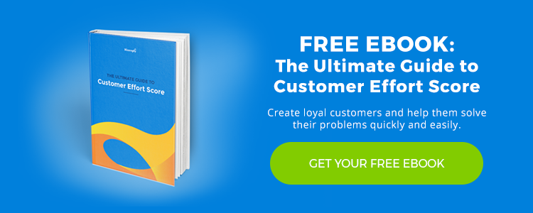 Customer Effort Score Ebook