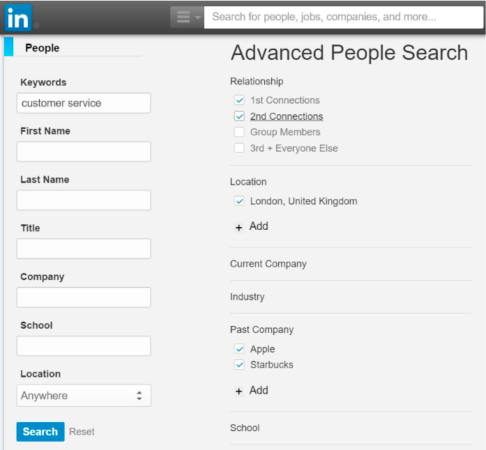 Recruiting Top Customer Service Agents on Linkedin