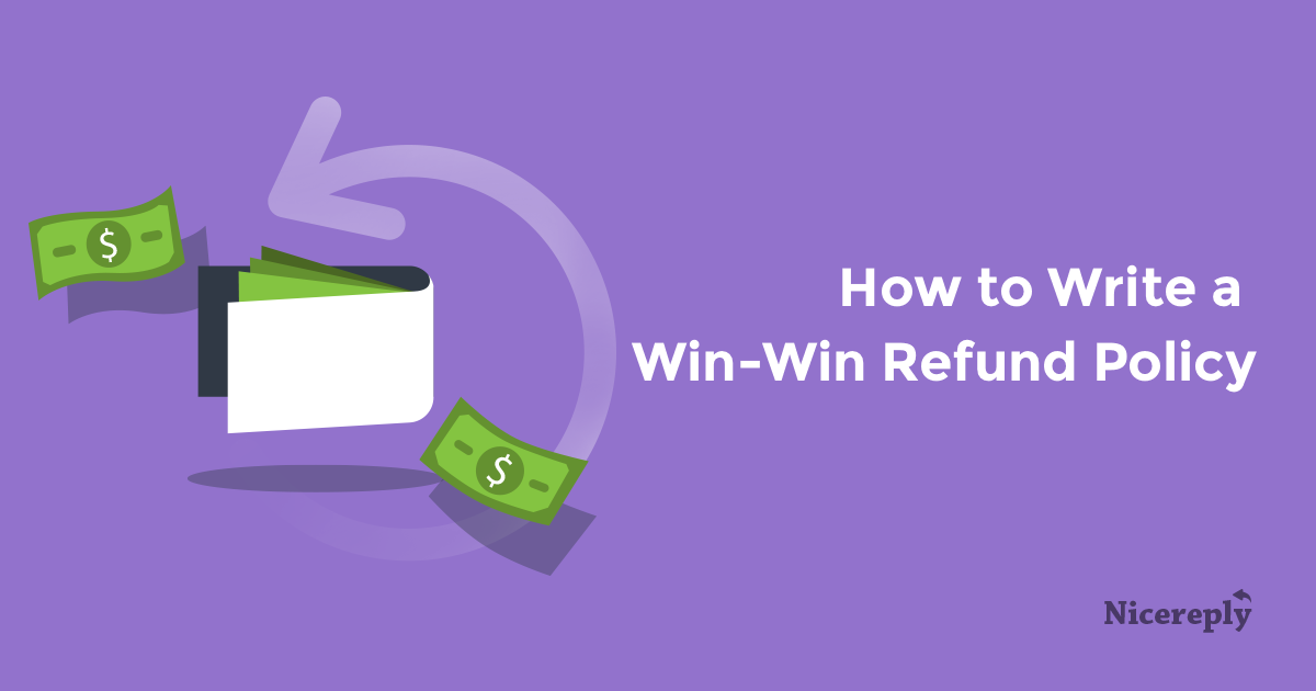 how to write a refund