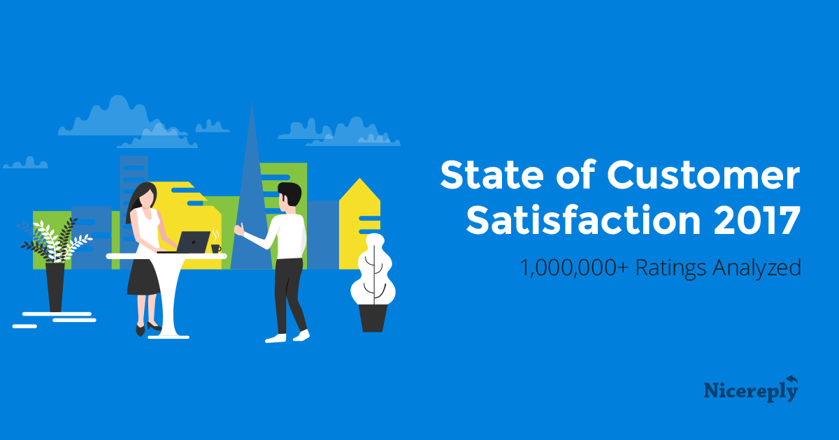 State Of Customer Satisfaction 2017 Infographics