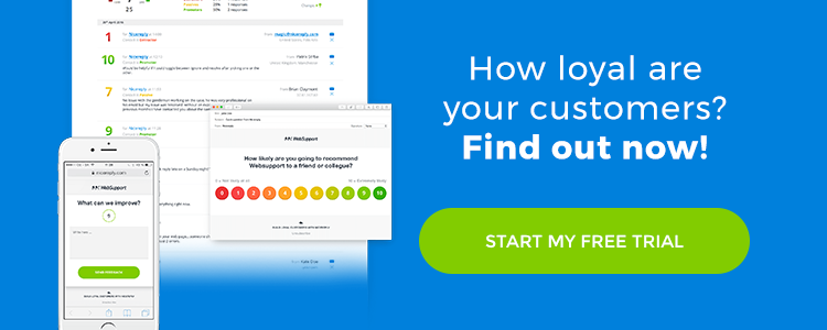 Find out how loyal are your customers