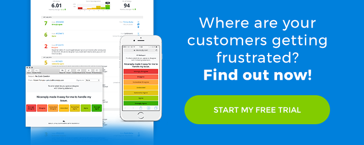 Where are your customers getting frustrated?