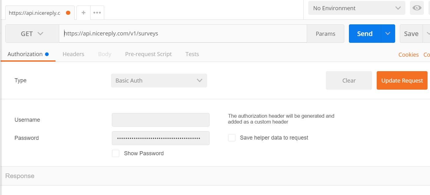 Postman API tool