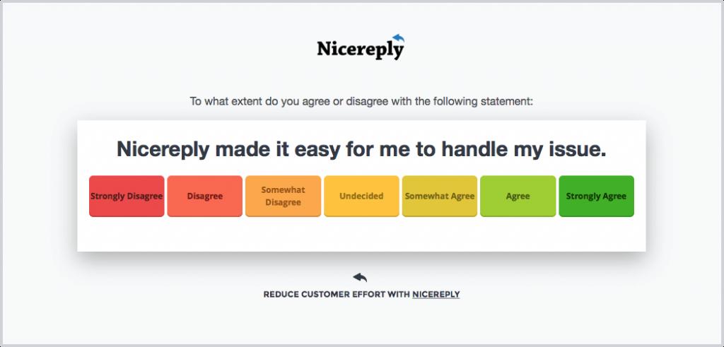 benchmarking customer effort score