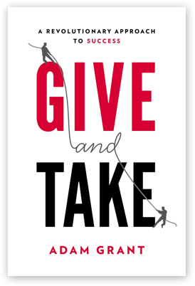 give and take- support driven books