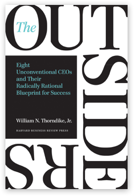 THe outsiders -  business books
