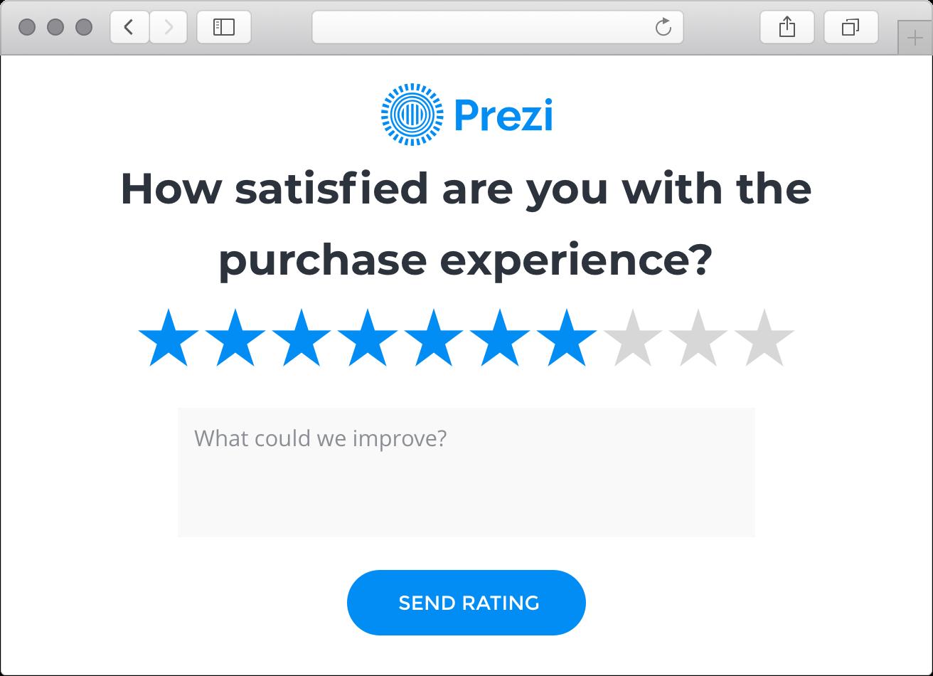 measure satisfaction